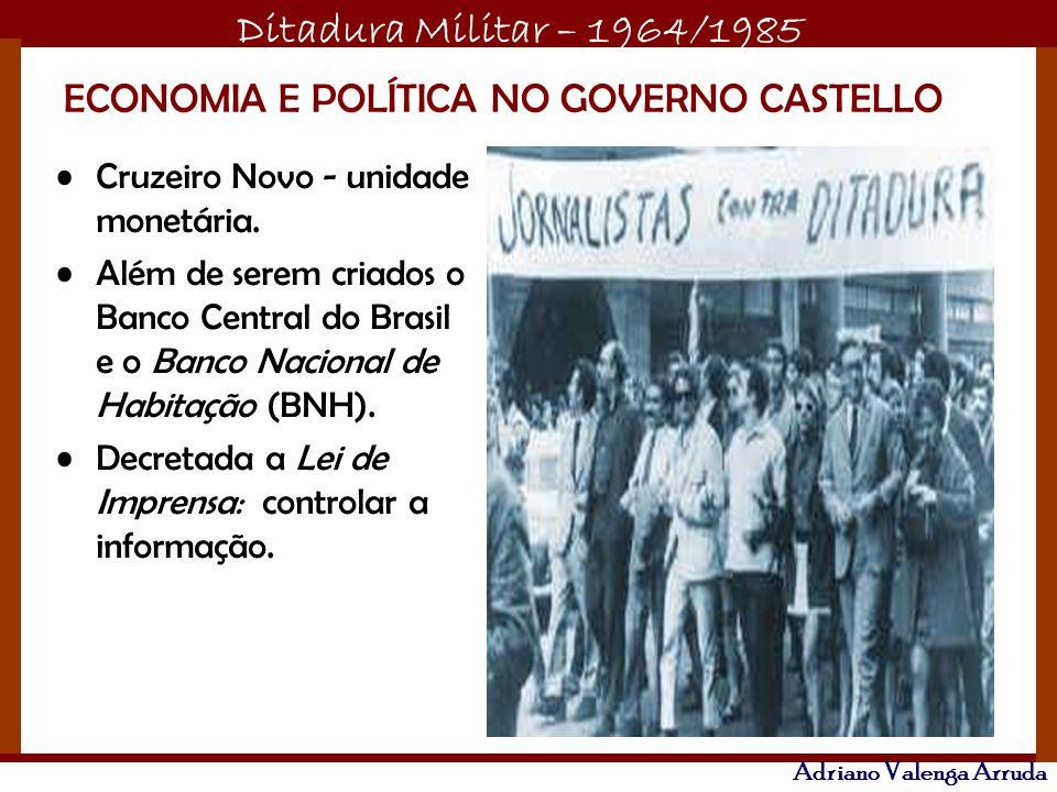 ECONOMIA E POLÍTICA NO GOVERNO CASTELLO