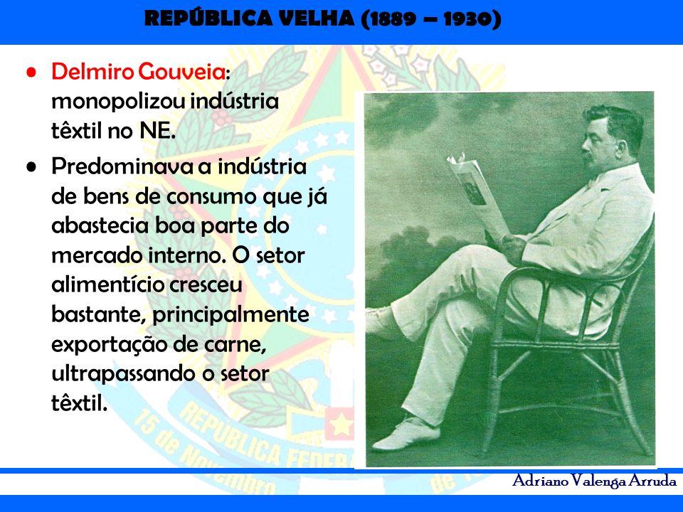 Delmiro Gouveia: monopolizou indústria têxtil no NE.