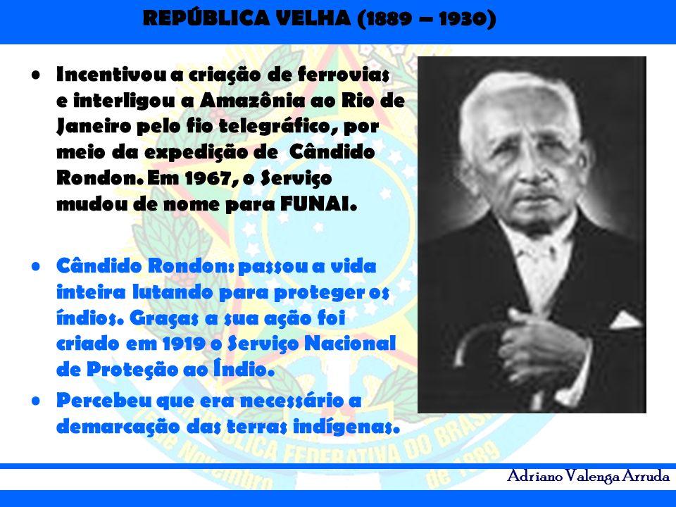Incentivou a criação de ferrovias e interligou a Amazônia ao Rio de Janeiro pelo fio telegráfico, por meio da expedição de Cândido Rondon. Em 1967, o Serviço mudou de nome para FUNAI.