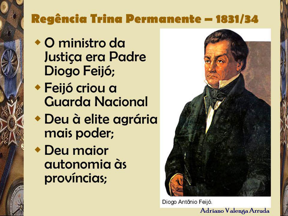 Regência Trina Permanente – 1831/34