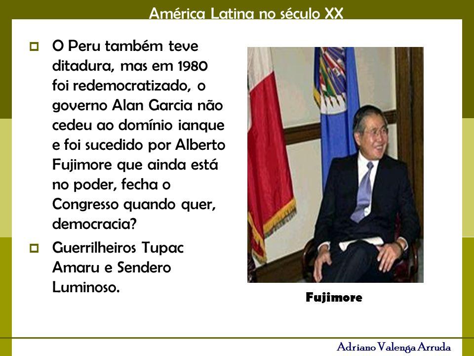 Guerrilheiros Tupac Amaru e Sendero Luminoso.