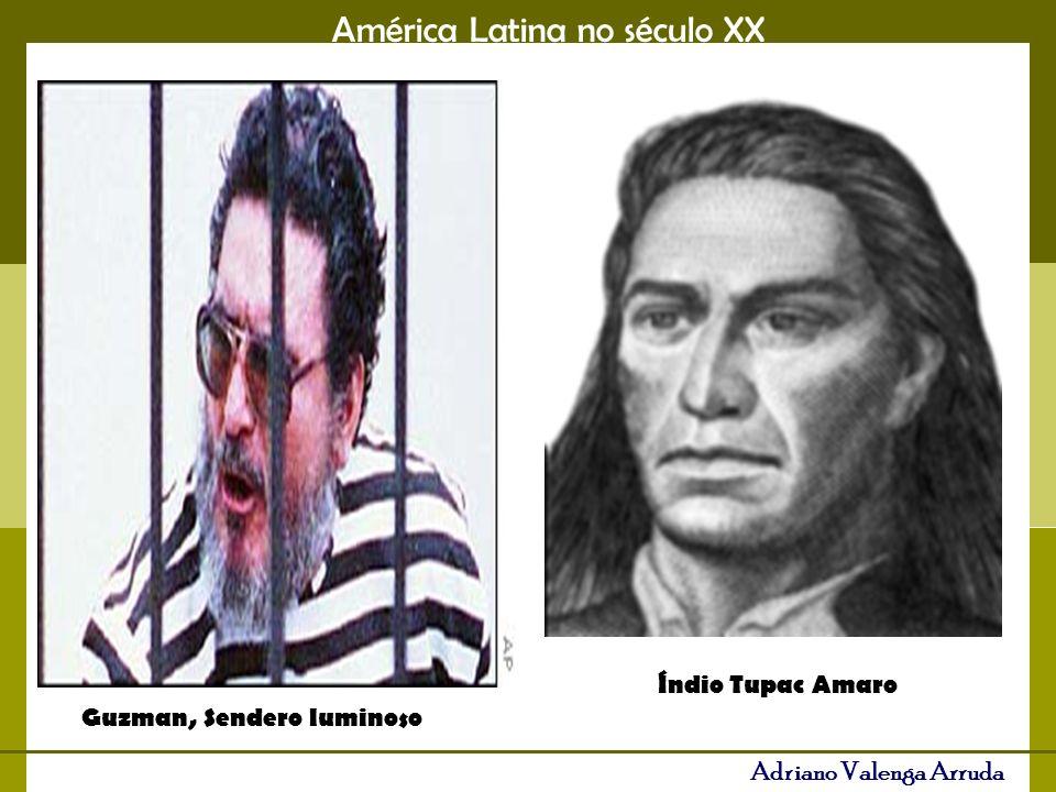 Índio Tupac Amaro Guzman, Sendero luminoso