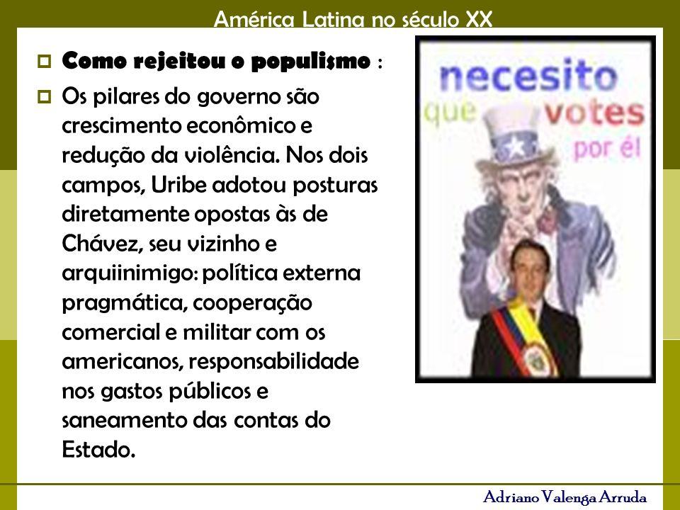 Como rejeitou o populismo :