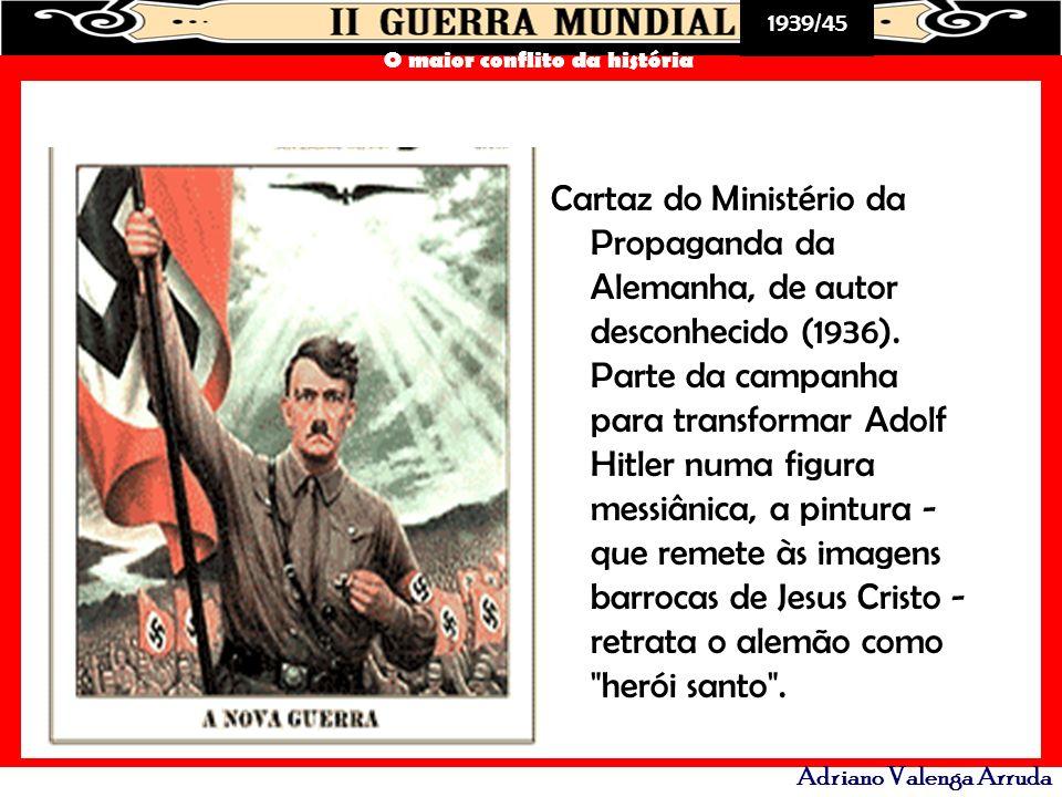 Cartaz do Ministério da Propaganda da Alemanha, de autor desconhecido (1936).