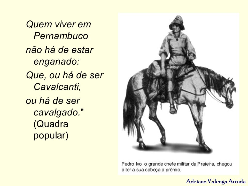 Quem viver em Pernambuco