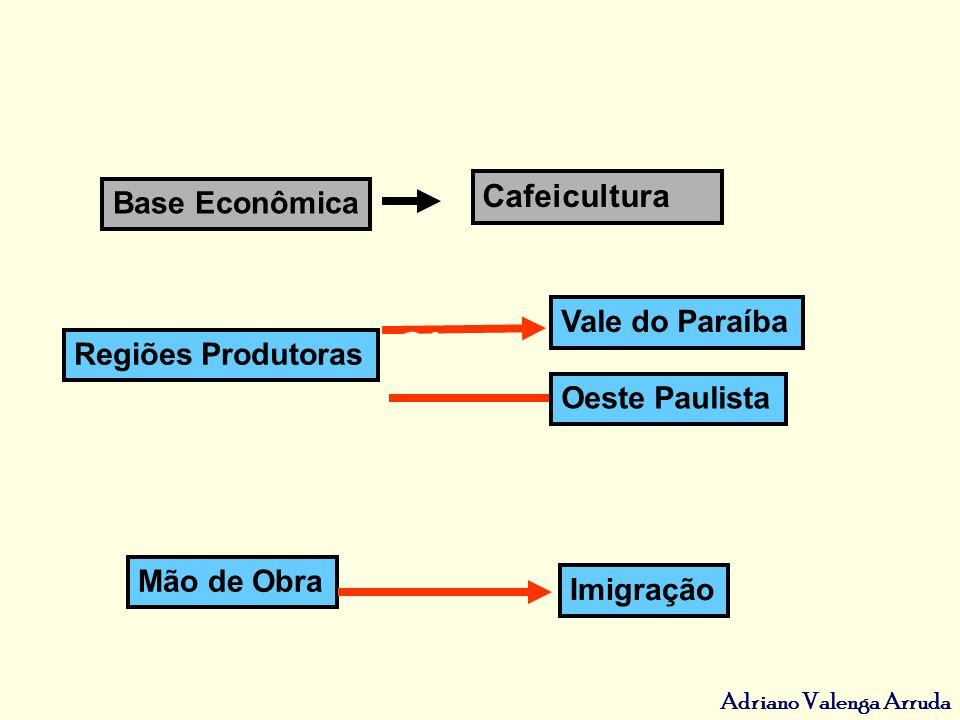 Cafeicultura ANTIGA SOLUÇÃO Base Econômica Vale do Paraíba