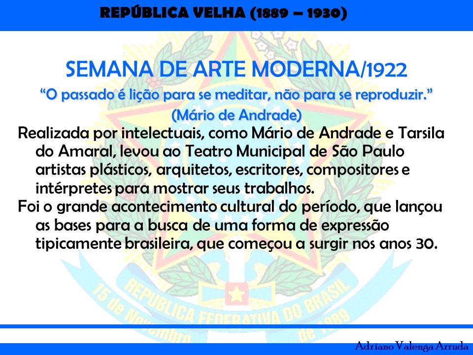 SEMANA DE ARTE MODERNA/1922