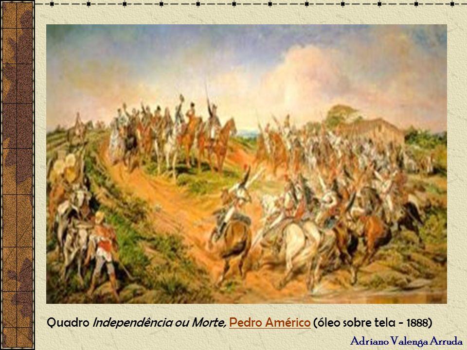 Quadro Independência ou Morte, Pedro Américo (óleo sobre tela - 1888)