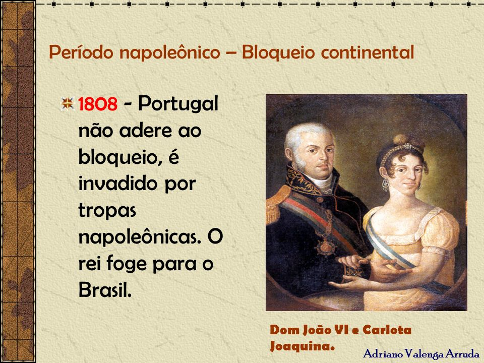 Período napoleônico – Bloqueio continental
