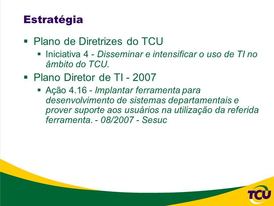 Plano de Diretrizes do TCU