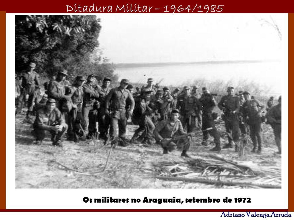 Os militares no Araguaia, setembro de 1972