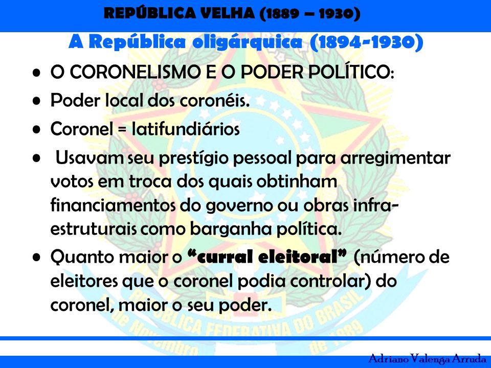 A República oligárquica (1894-1930)