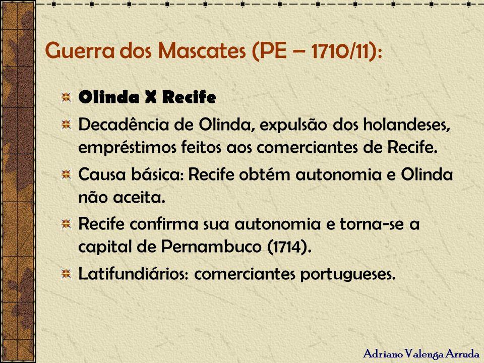 Guerra dos Mascates (PE – 1710/11):