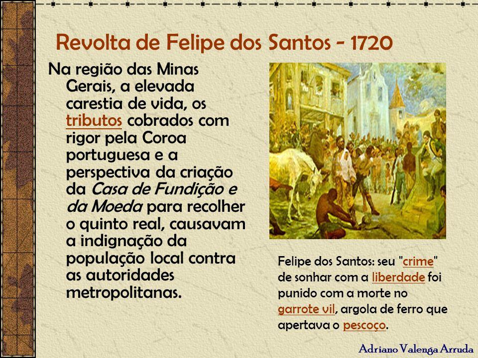 Revolta de Felipe dos Santos - 1720