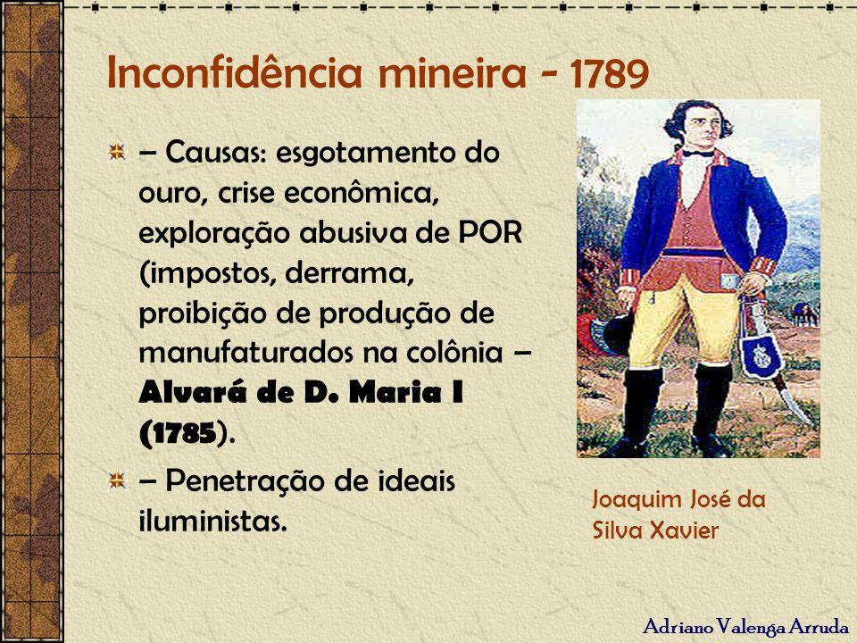 Inconfidência mineira - 1789
