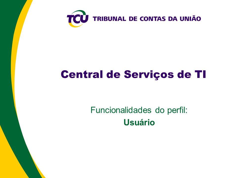 Central de Serviços de TI