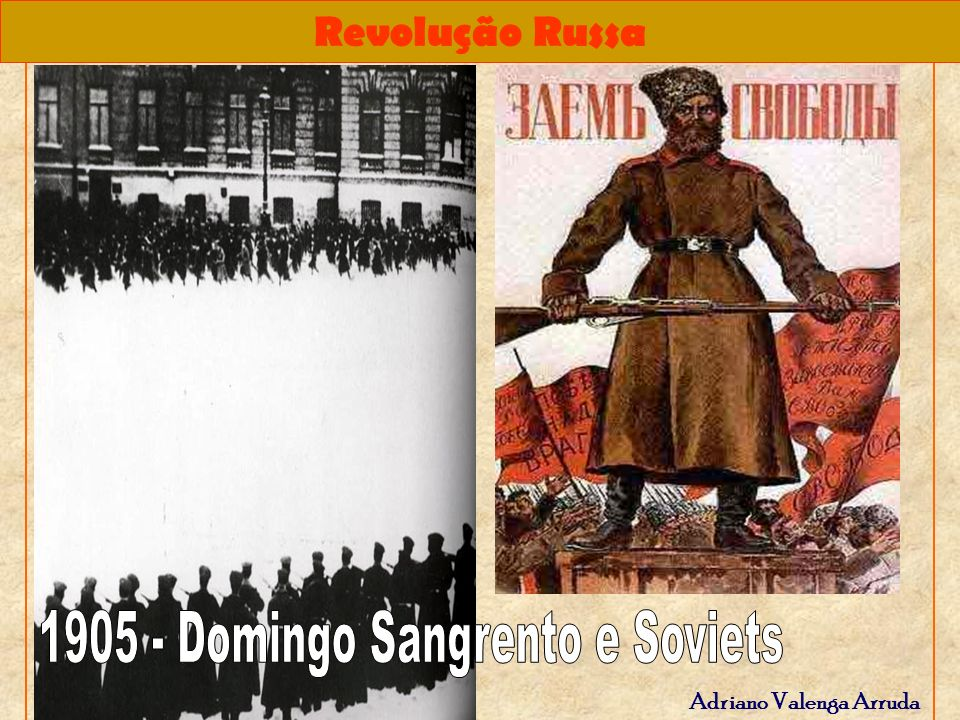 1905 - Domingo Sangrento e Soviets