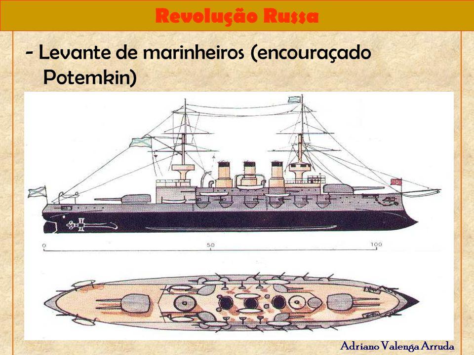 - Levante de marinheiros (encouraçado Potemkin)