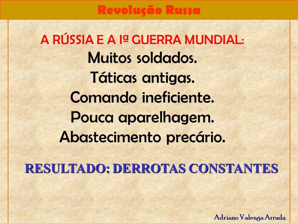 RESULTADO: DERROTAS CONSTANTES