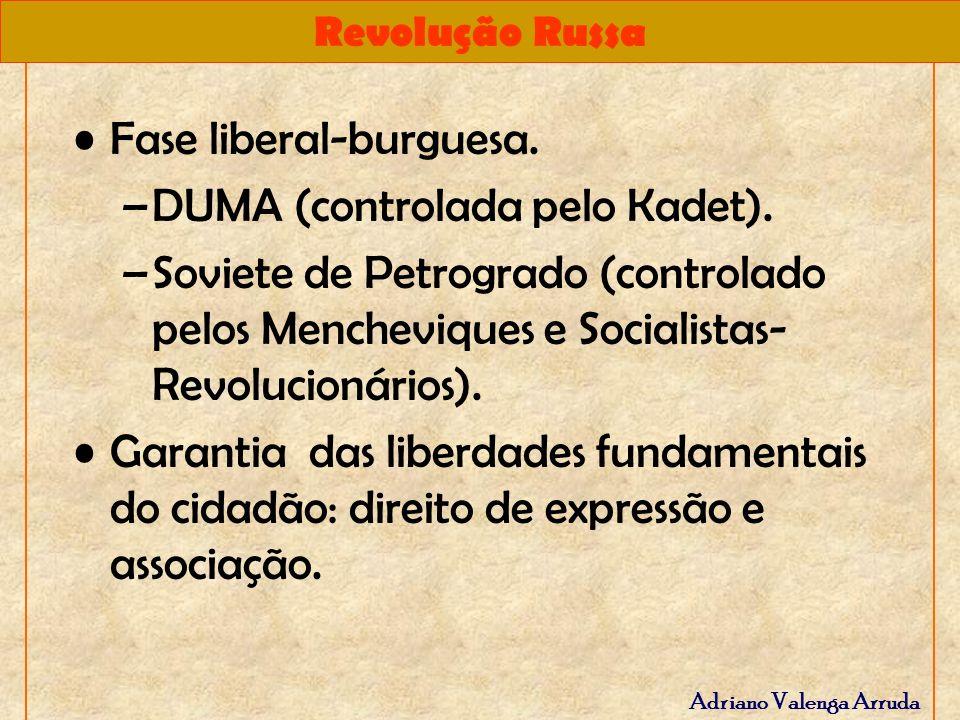 Fase liberal-burguesa.