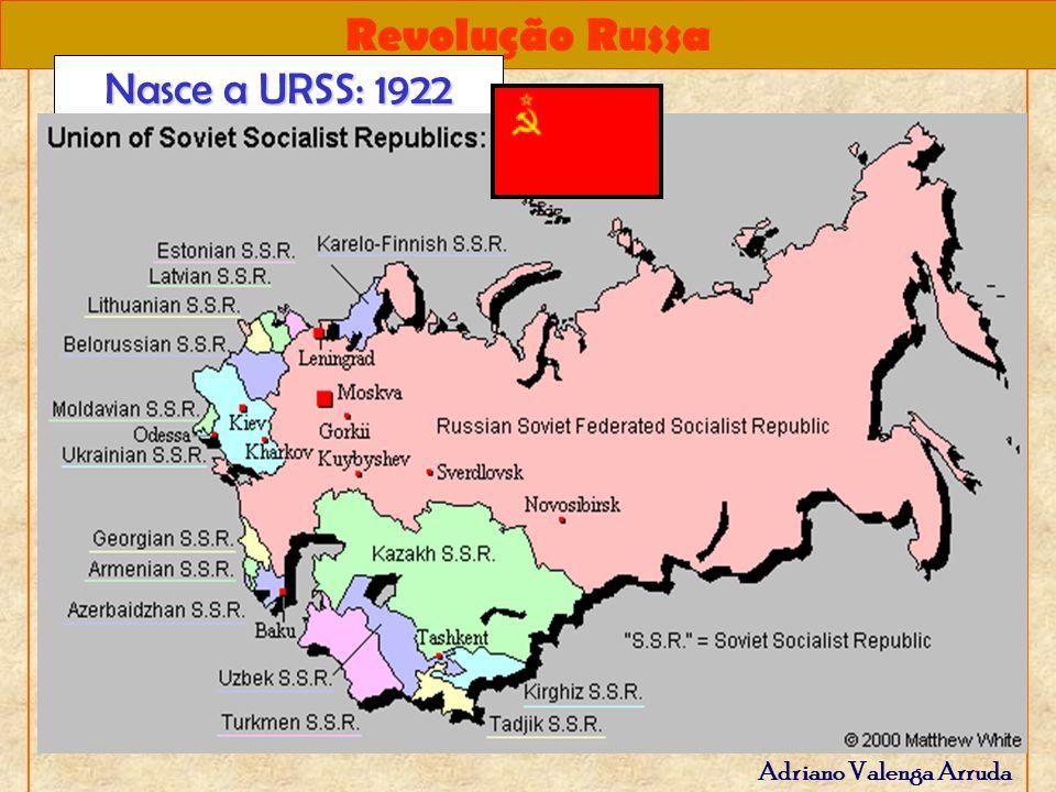 Nasce a URSS: 1922