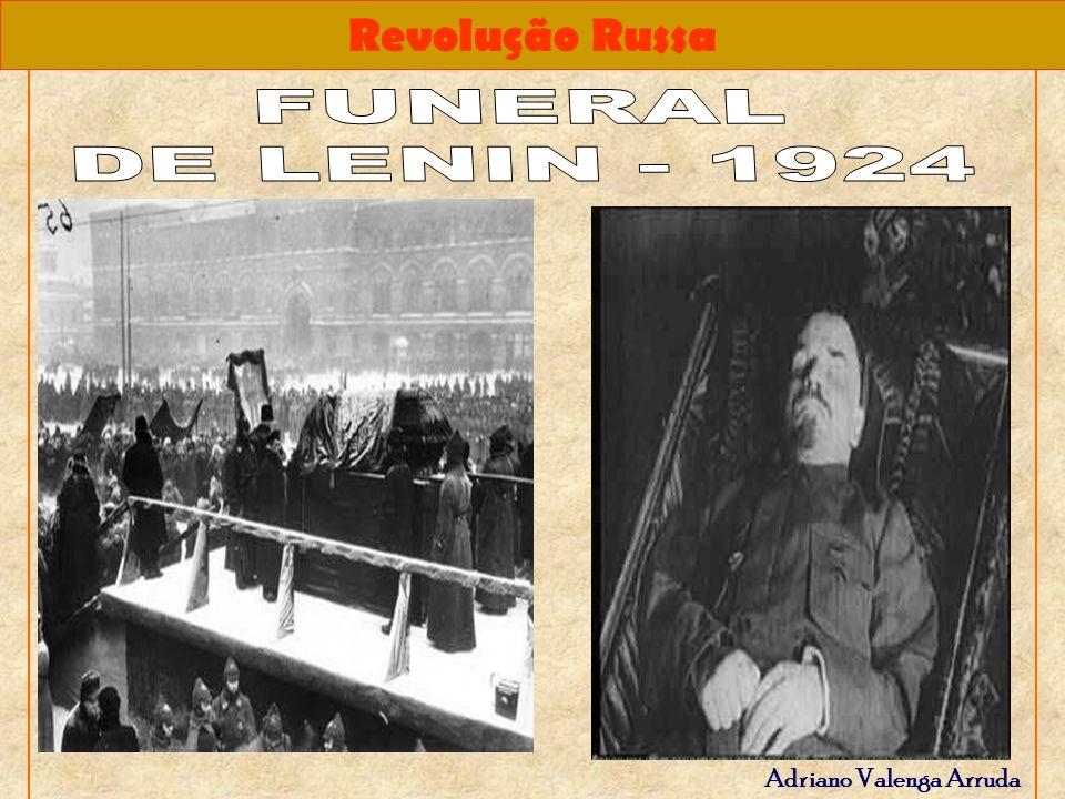 FUNERAL DE LENIN - 1924