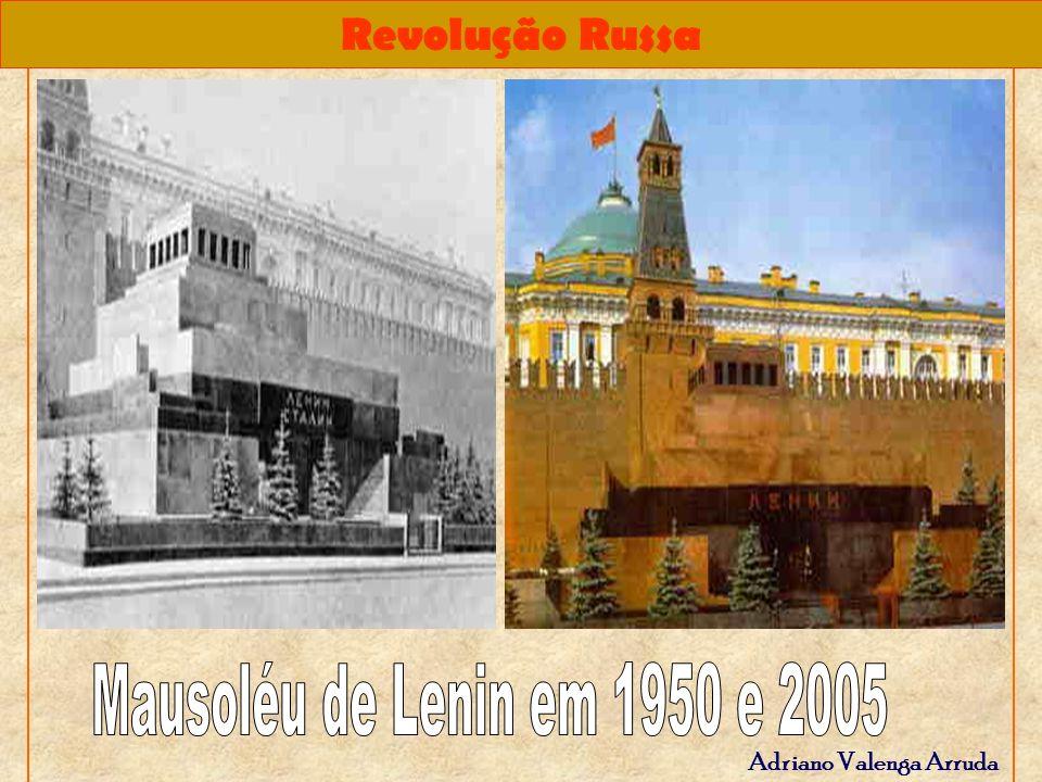 Mausoléu de Lenin em 1950 e 2005