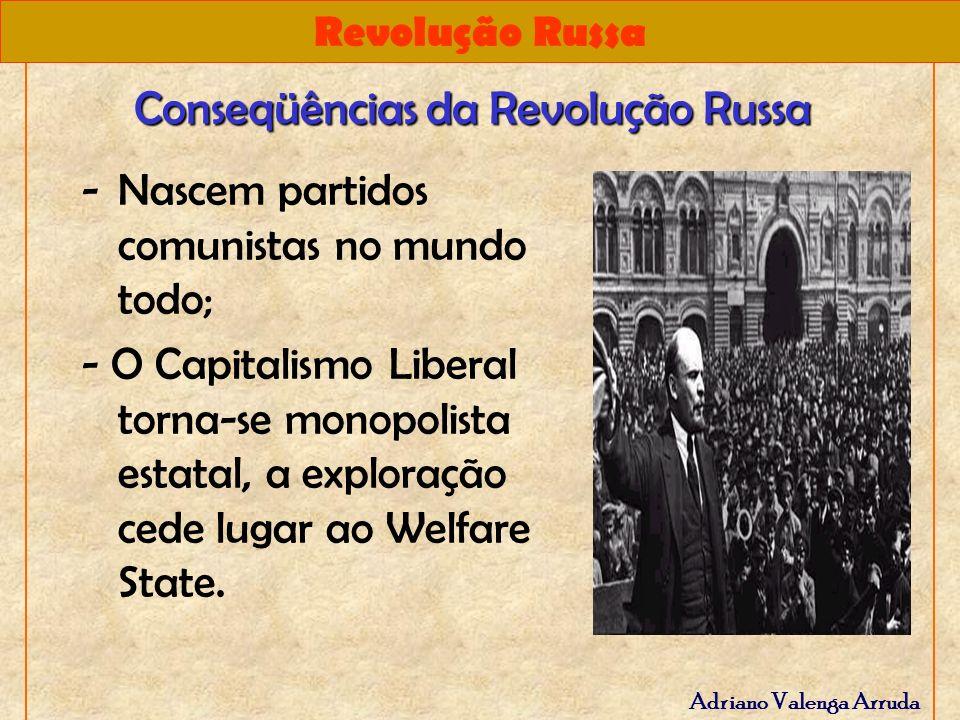 Conseqüências da Revolução Russa