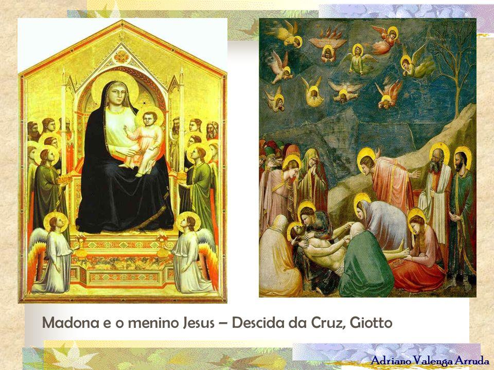 Madona e o menino Jesus – Descida da Cruz, Giotto