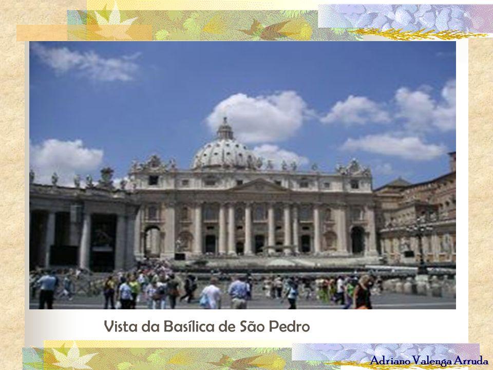 Vista da Basílica de São Pedro