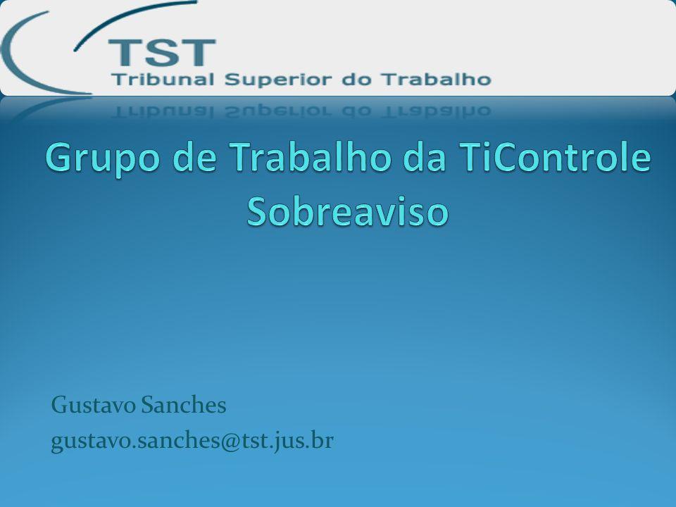 Grupo de Trabalho da TiControle Sobreaviso