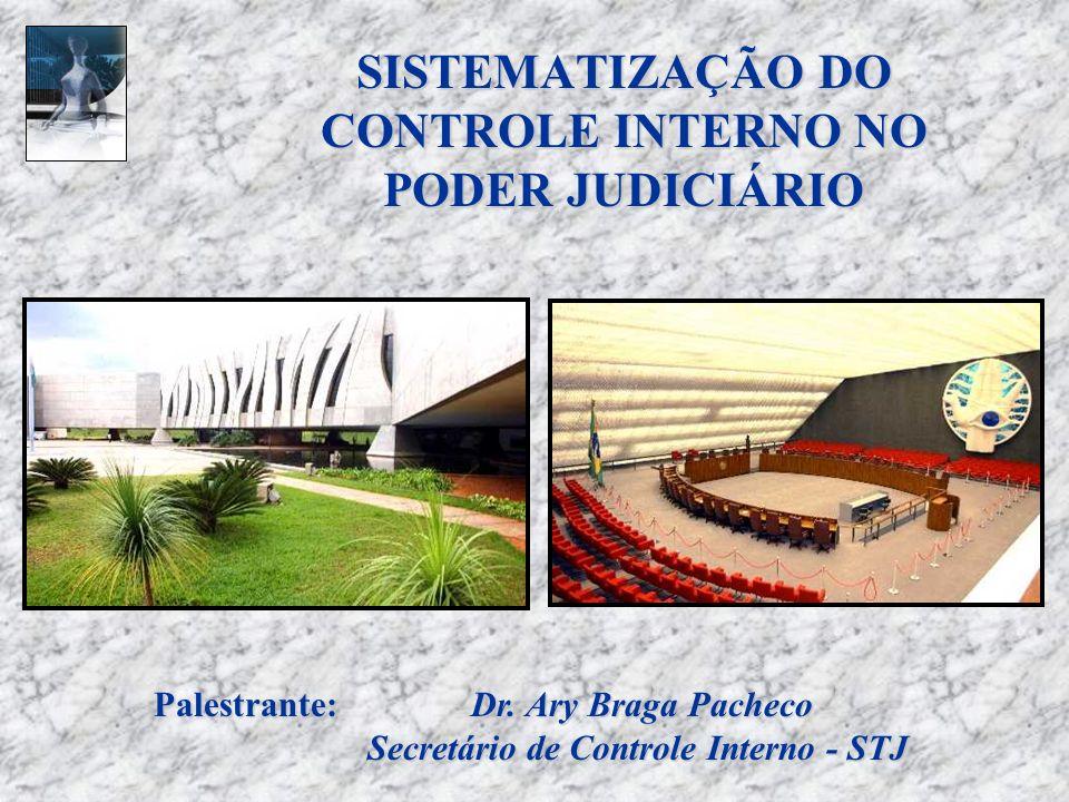 SISTEMATIZAÇÃO DO CONTROLE INTERNO NO PODER JUDICIÁRIO