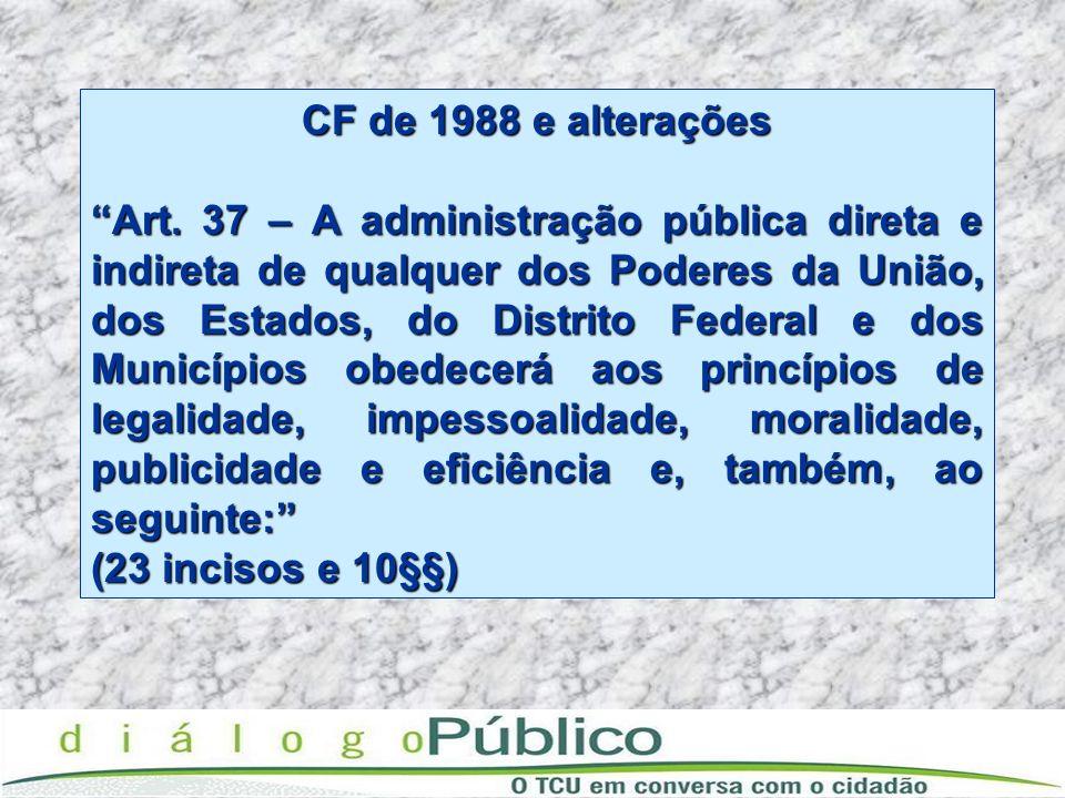 CF de 1988 e alterações