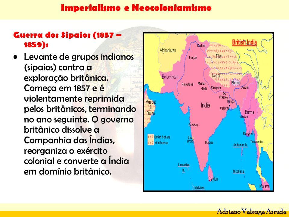 Guerra dos Sipaios (1857 – 1859):