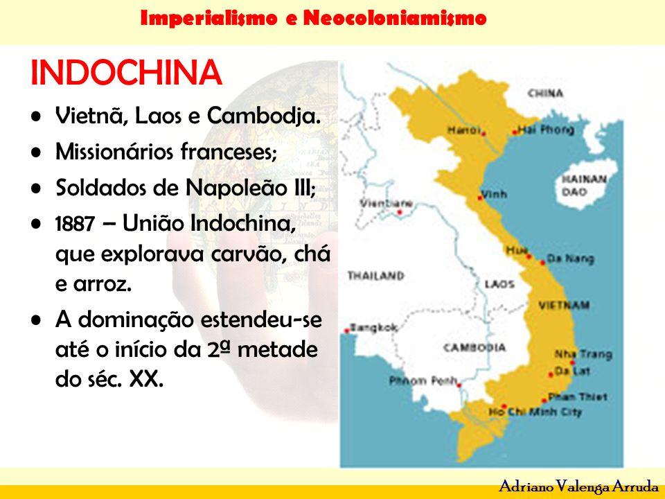INDOCHINA Vietnã, Laos e Cambodja. Missionários franceses;
