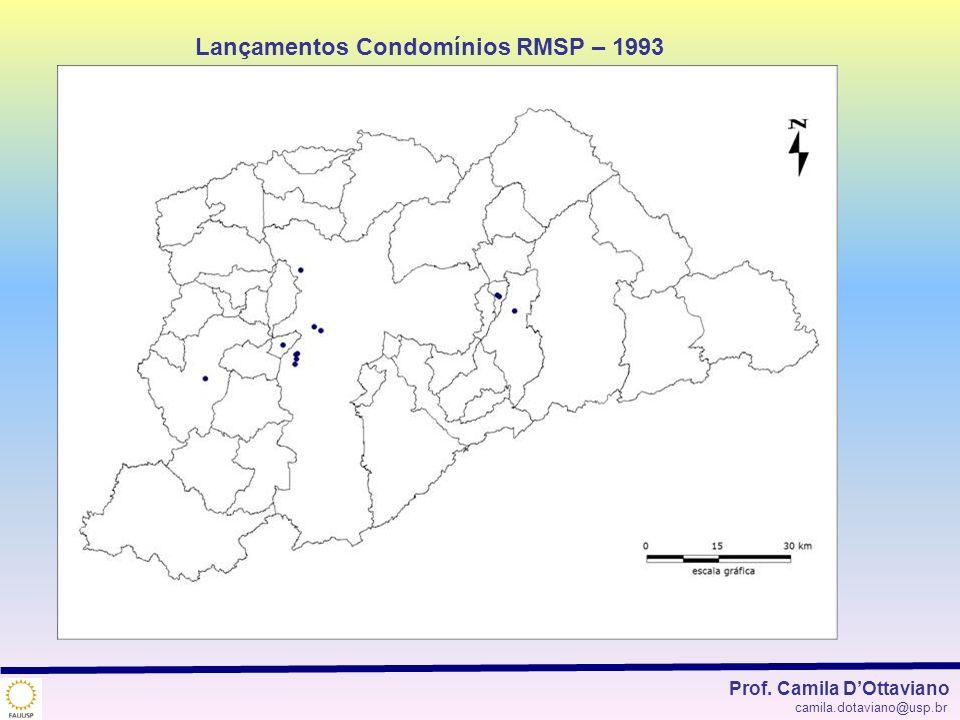 Lançamentos Condomínios RMSP – 1993