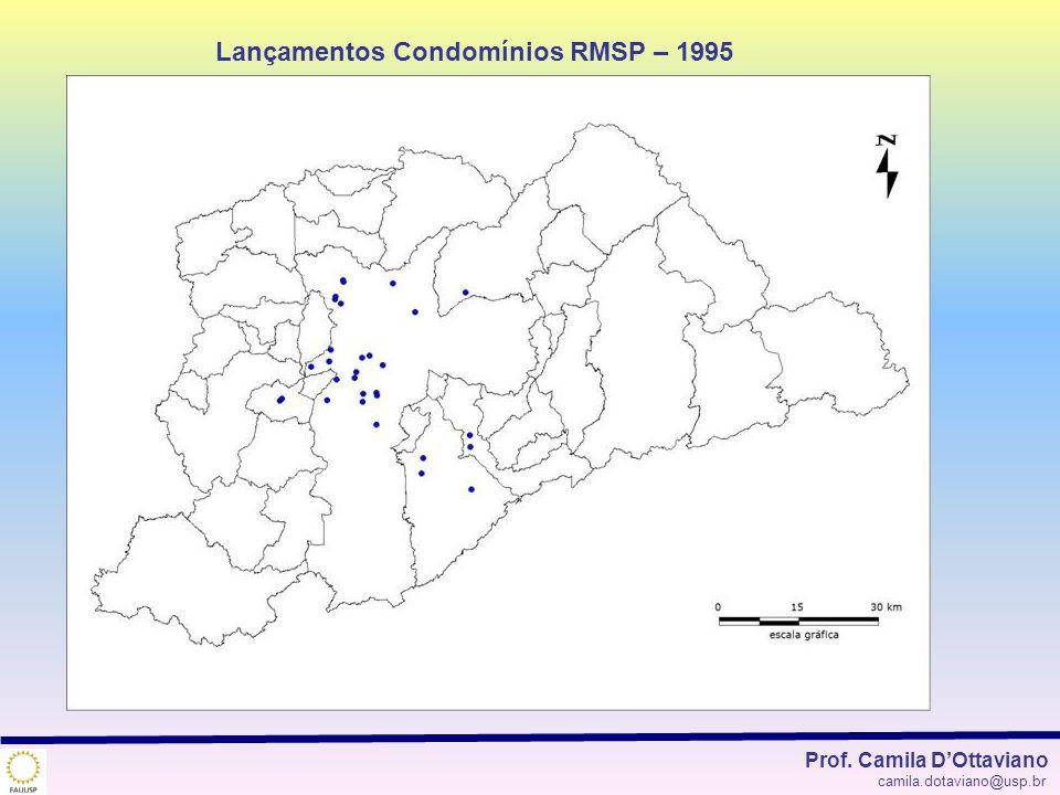 Lançamentos Condomínios RMSP – 1995