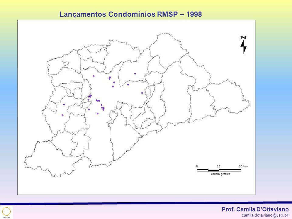 Lançamentos Condomínios RMSP – 1998