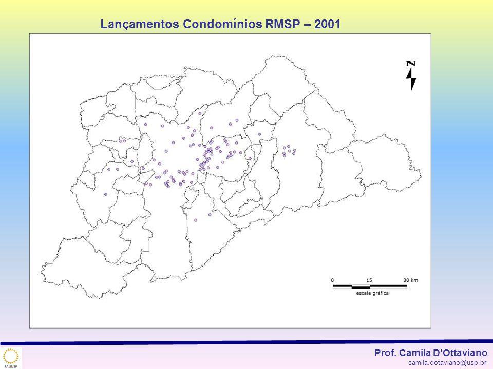 Lançamentos Condomínios RMSP – 2001
