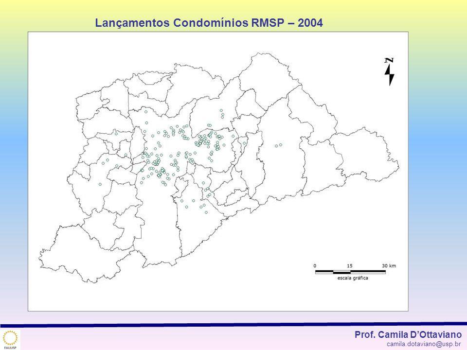 Lançamentos Condomínios RMSP – 2004