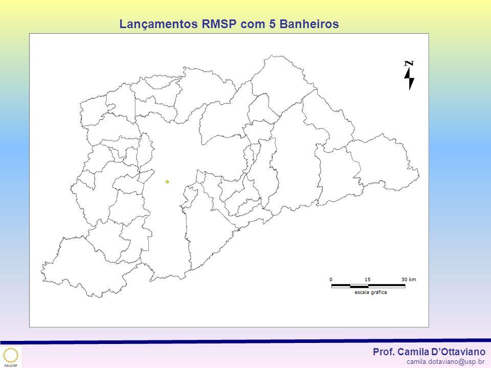 Lançamentos RMSP com 5 Banheiros