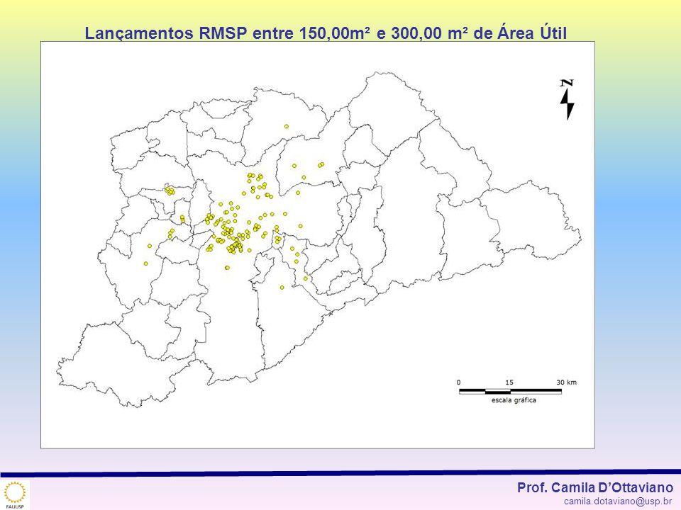 Lançamentos RMSP entre 150,00m² e 300,00 m² de Área Útil