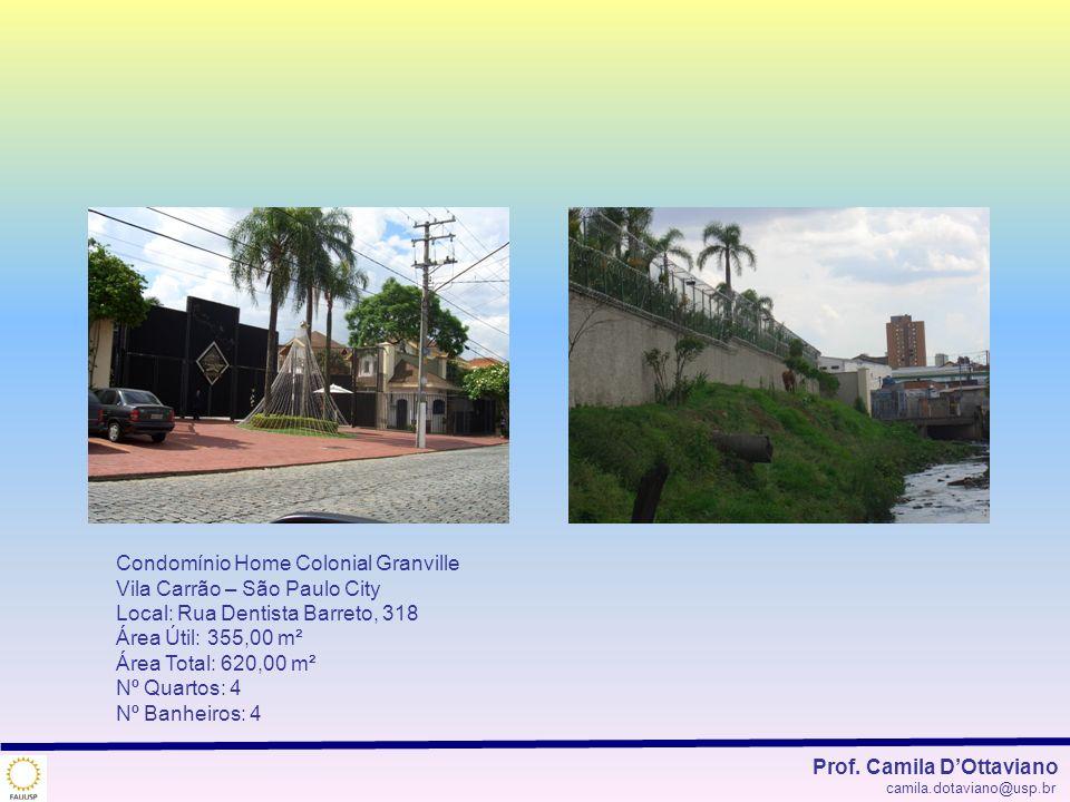 Condomínio Home Colonial Granville Vila Carrão – São Paulo City
