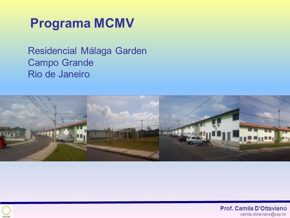 Programa MCMV Residencial Málaga Garden Campo Grande Rio de Janeiro