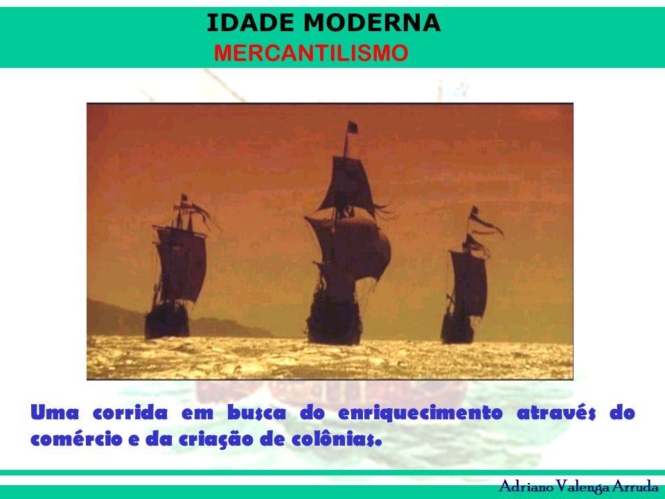 Uma corrida em busca do enriquecimento através do comércio e da criação de colônias.