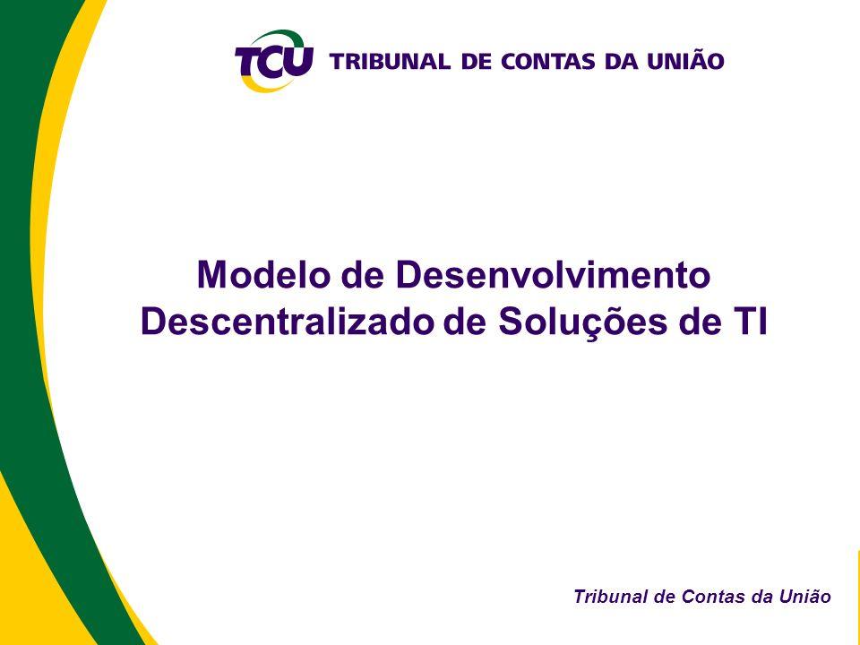 Modelo de Desenvolvimento Descentralizado de Soluções de TI