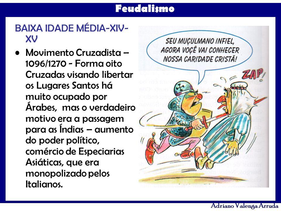 BAIXA IDADE MÉDIA-XIV-XV