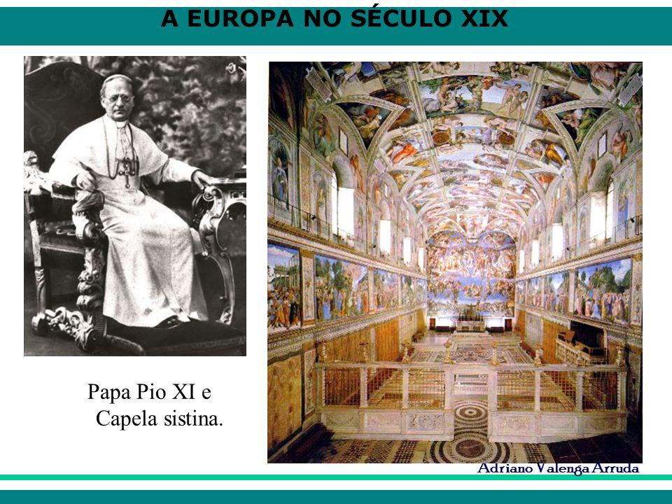 Papa Pio XI e Capela sistina.
