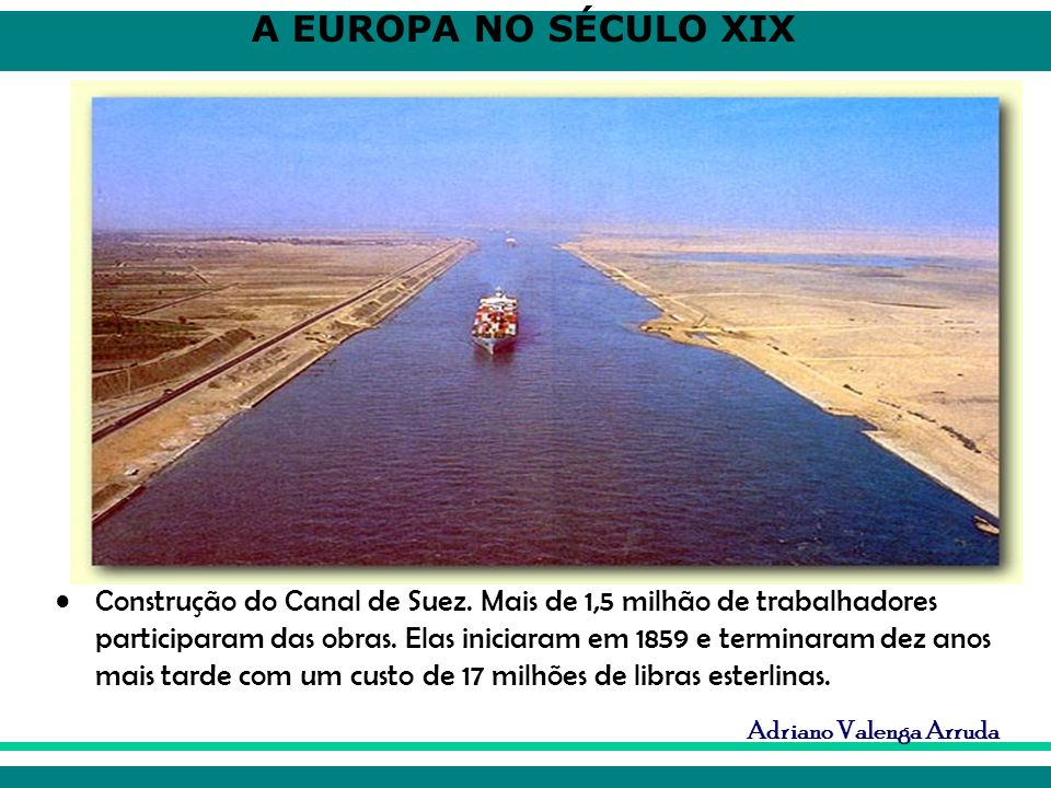 Construção do Canal de Suez