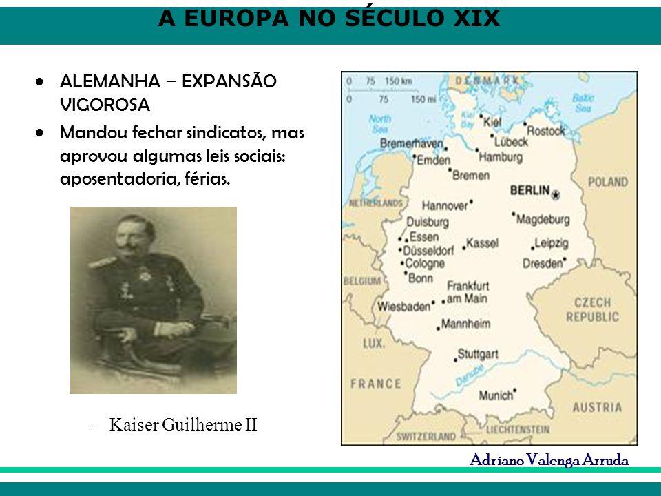 ALEMANHA – EXPANSÃO VIGOROSA